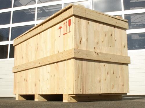 Holzkisten, Transportkisten & Schnittholzkisten